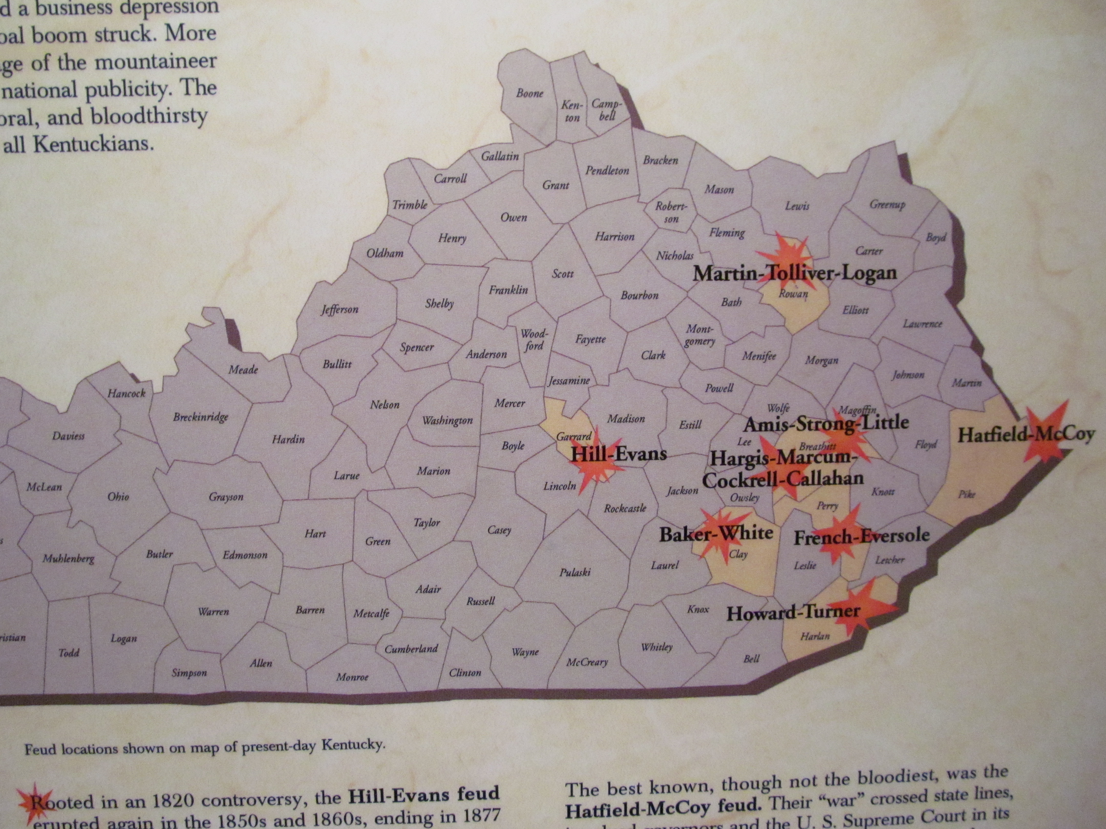 Learn About the Kentucky Feuds at the Kentucky History Center