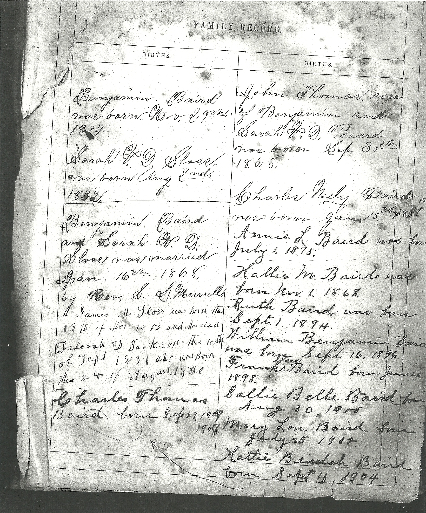 1806 simpson county kentucky birth records