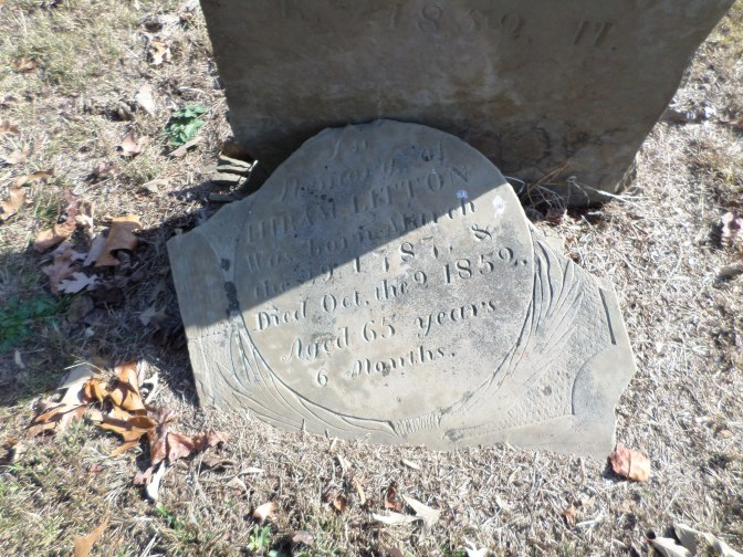 Litton Family Buried At Briar Creek Cemetery