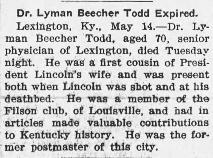Todd Death Notice Image Two